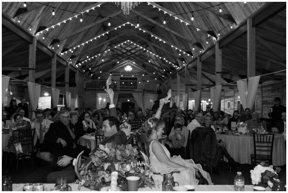 Winter wedding at Willow Lane Barn in Ols Alberta
