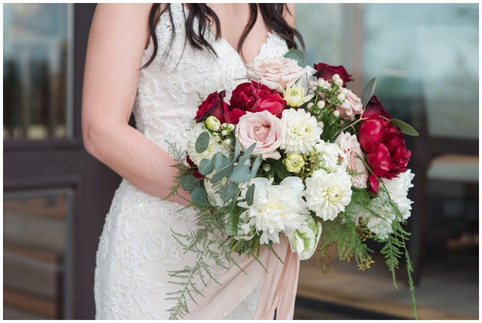 Spring wedding at Pinebrook Golf & Country Club.