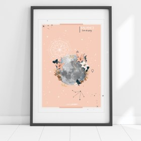 affiche Moon Balance Chic and Pepper