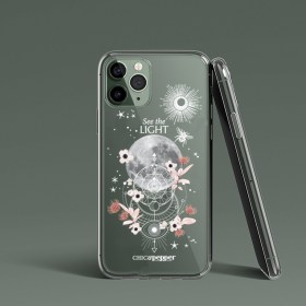 Coque silicone moon Chic and Pepper