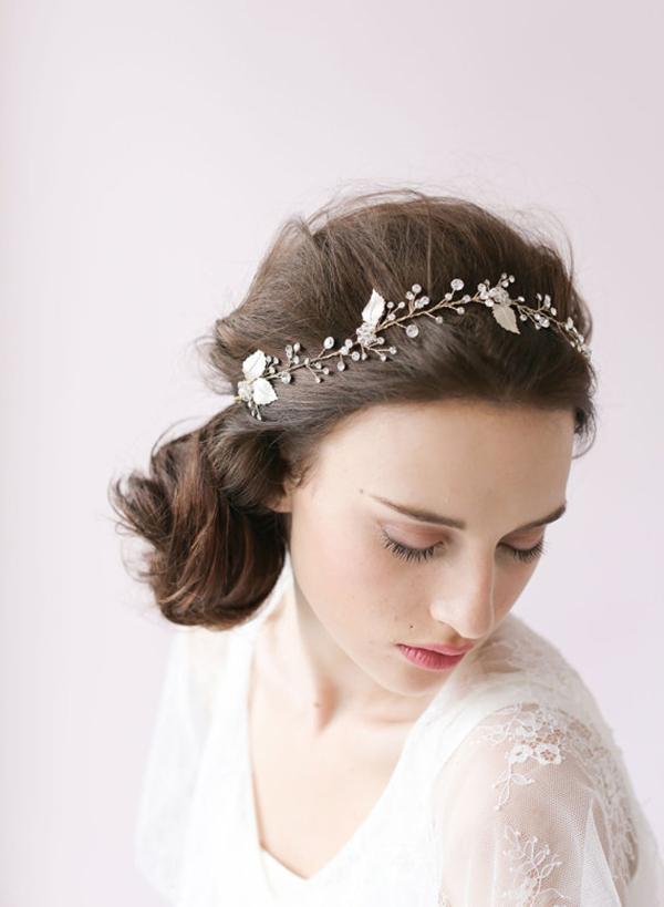 Bridal Flower Amp Crystal Headpieces Chic Amp Stylish Weddings