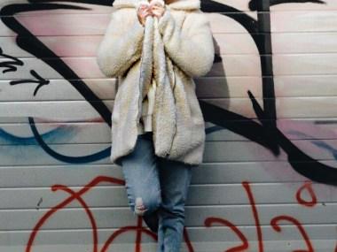 la veste peluche