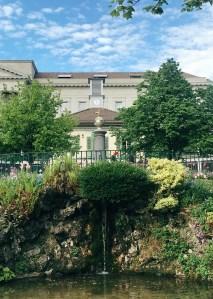 Le parc de Mon Repos à Lausanne