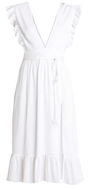 robe blanche Na-kd