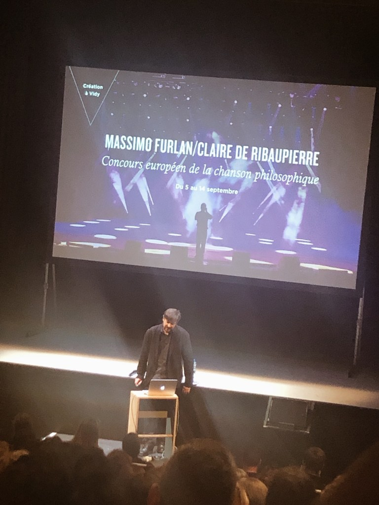 Concours européen de la chanson philosophie, Théâtre de Vidy