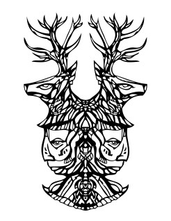 Deer Songs A Chicano Codex Coloring Book