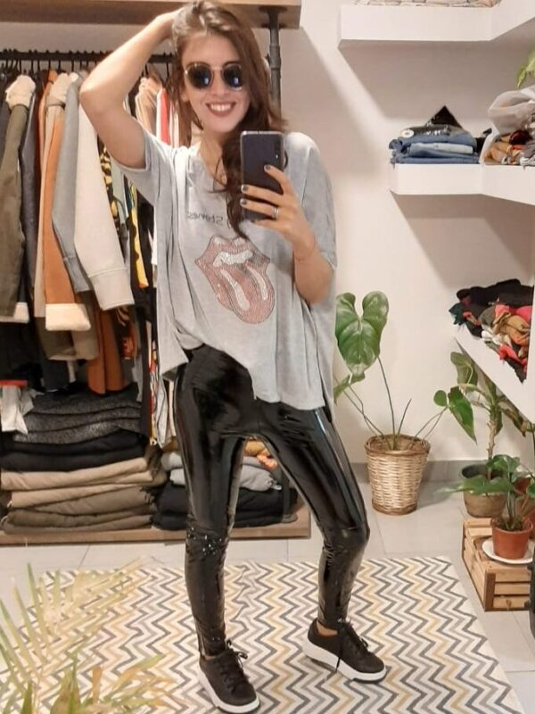 Pantalon Luci Engomado
