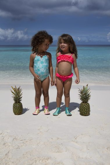 Two girls photographed by Inge van Altena