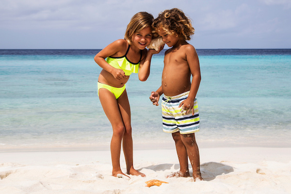 Kids Models from Curacao for Heidi Klein - Chicas Casting Agency