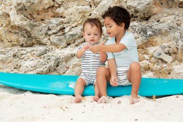 beach boys kids casting catalog photography caribbean curacao models summer swimwear