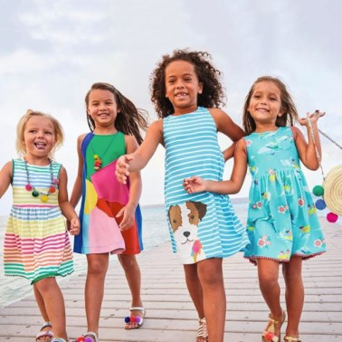 Client: Mini Boden | Campaign: SS20 Island Adventures | Photography: Damian Weilers | Production Props (flamingo): Chicas Curacao
