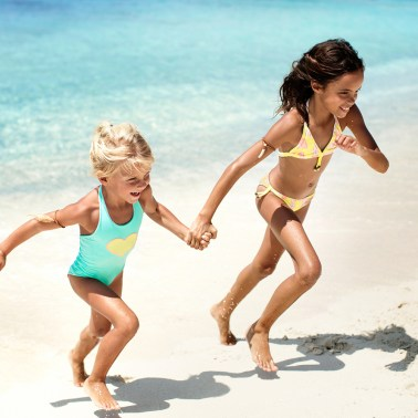 Most beaches and bays are perfect for a kids summer shoot