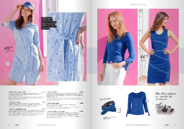 fashion catalog on caribbean location colorful streets beach landscapes local production services Curacao