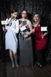 with Kelsie O'Brien (middle) and Clarissa Skinner (far right) | photo : Ryan Swartzlander