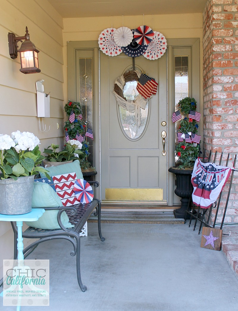 Inspired Designs Monday: Easy 4th of July Decorating - Chic California