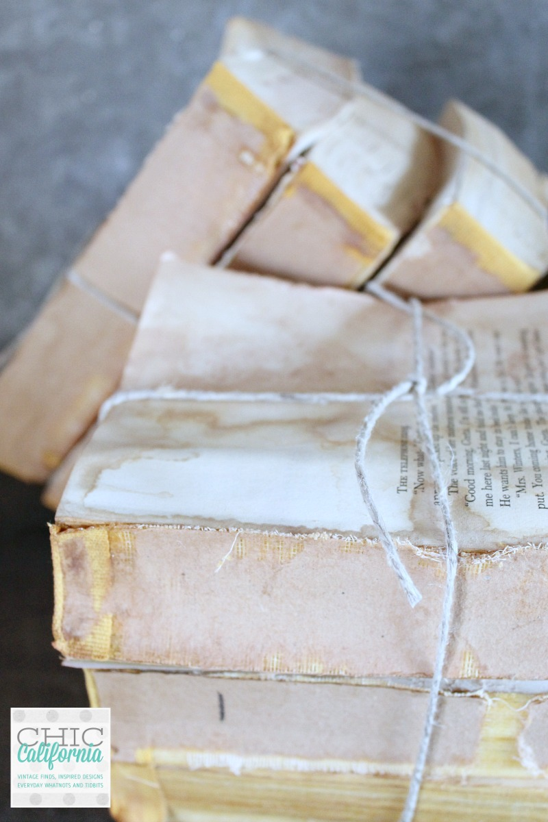 Restoration Hardware Vintage Book Hack