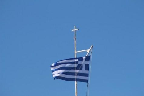 Kreeta 12.10.2014 Greece flag