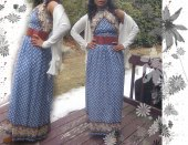 Vintage Dress and belt from my closet