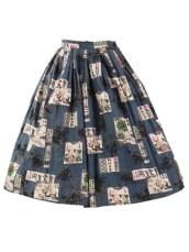 Vintage Skirt, bluevelvetvintage.com