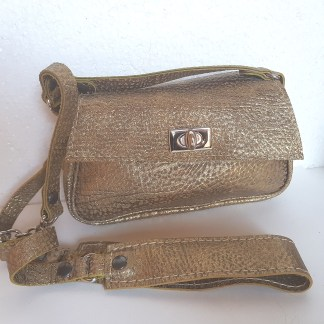 PETIT SAC VIVIANI OR BRONZE