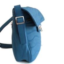 Grand sac Ondulations bleu pétrole