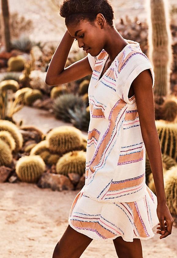 Throw On and Go Style Dresses Elira Stripe Dress Anthropologie