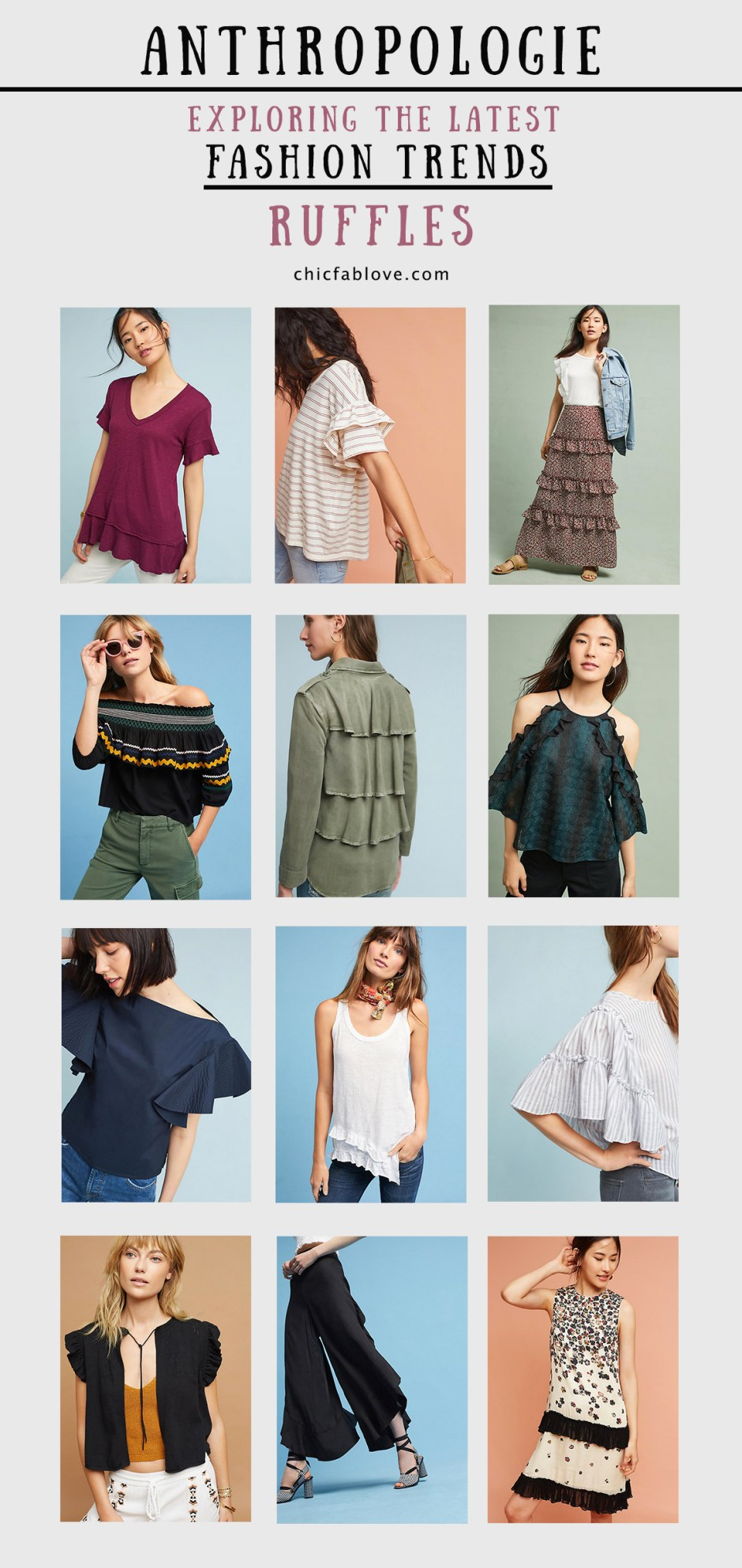 Anthropologie Exploring Fashion Trends for August