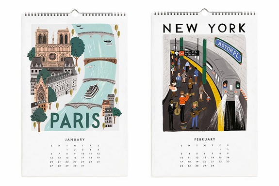 32a296574a37 25 of the Best Calendars Chic Enough to Use Beyond 2019 - Chic+Fab+Love