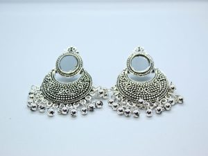 Mirror Drop Earring