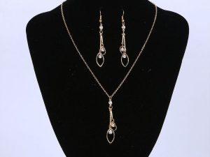 Leave Jewellery Set