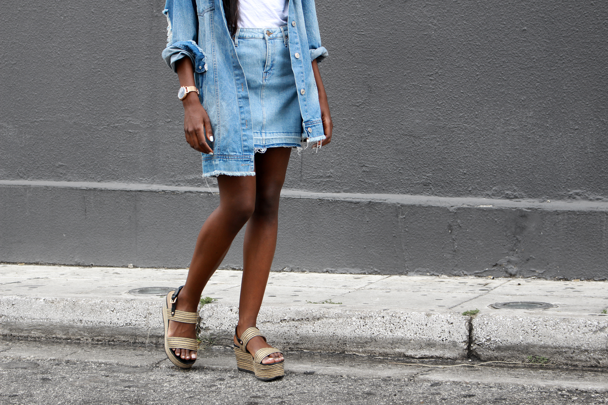 the-denim-skirt