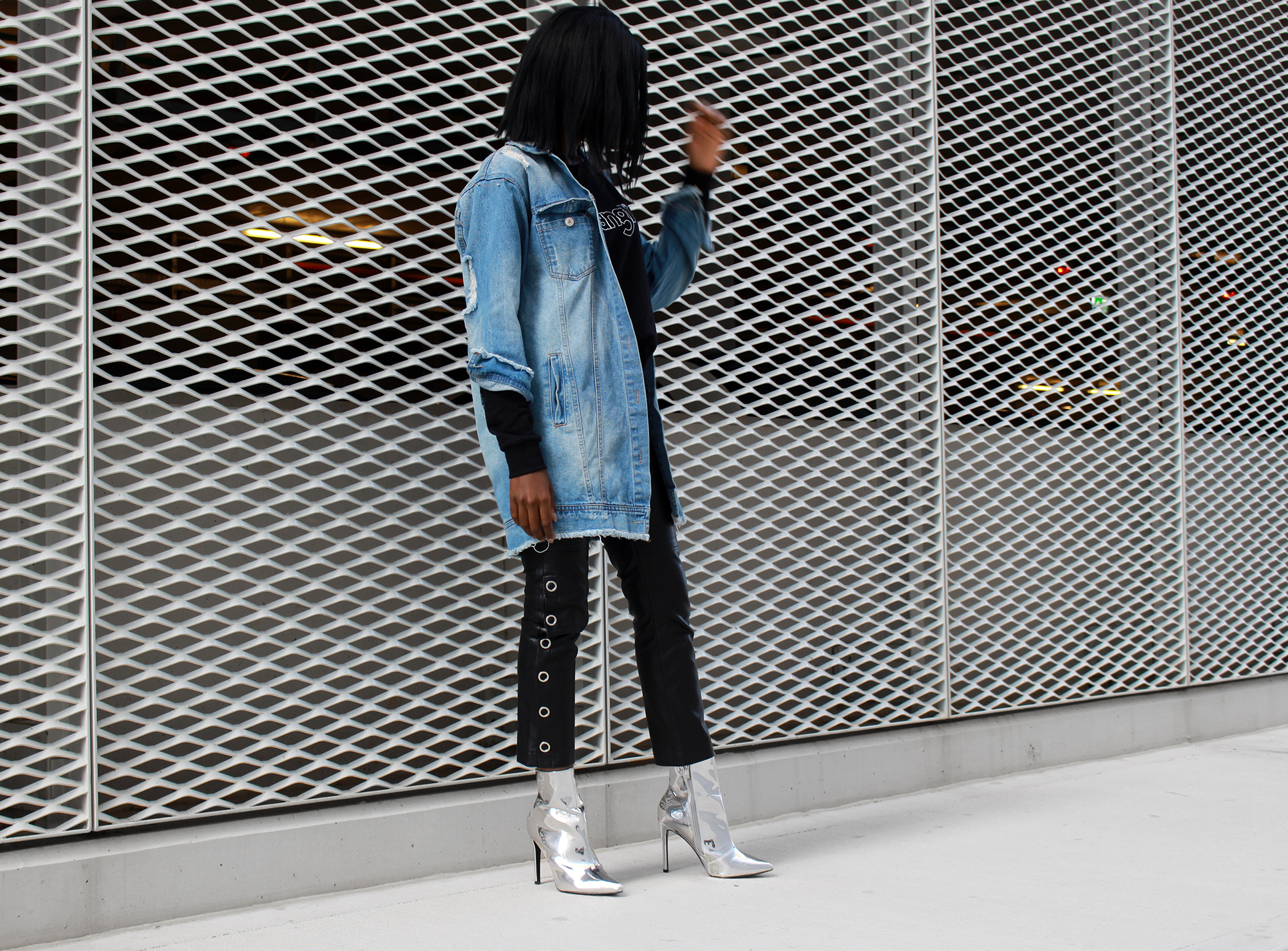 silver-booties-outfit