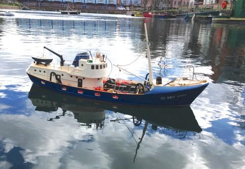 Model boat 3