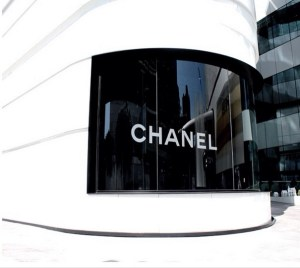 Chanel's boutique at Central Embassy