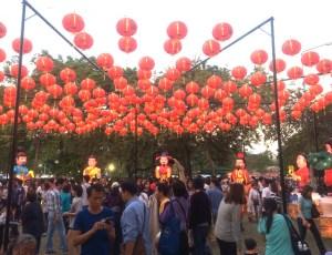 Festival in Lumpini Park