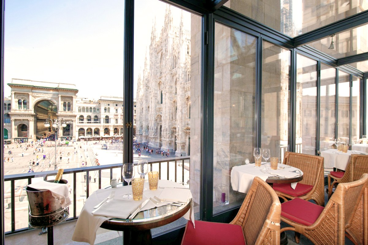 Giacomo Arengario: Dinner with a View in Milan
