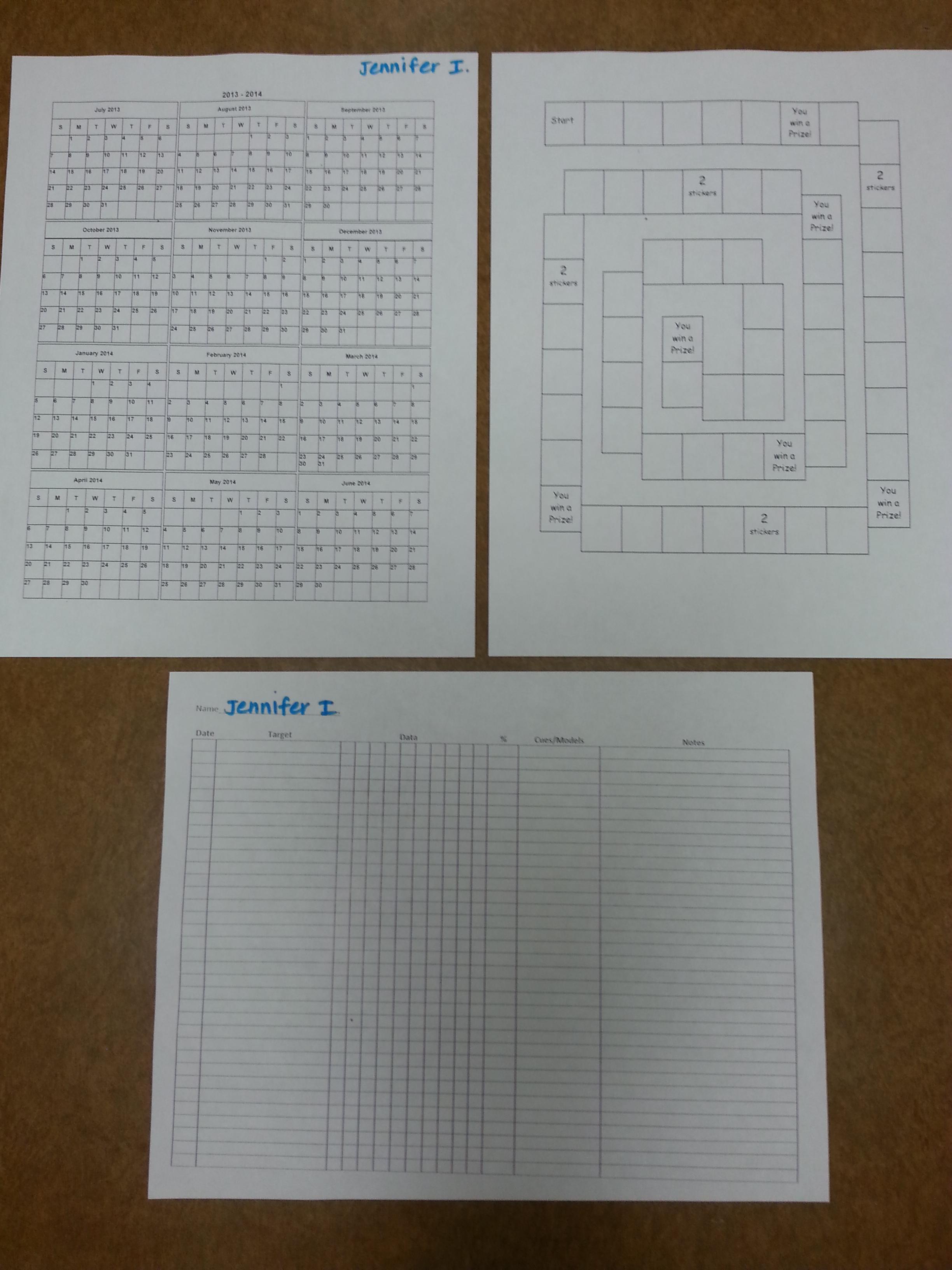Back To School Speech Folders Make Life Easier
