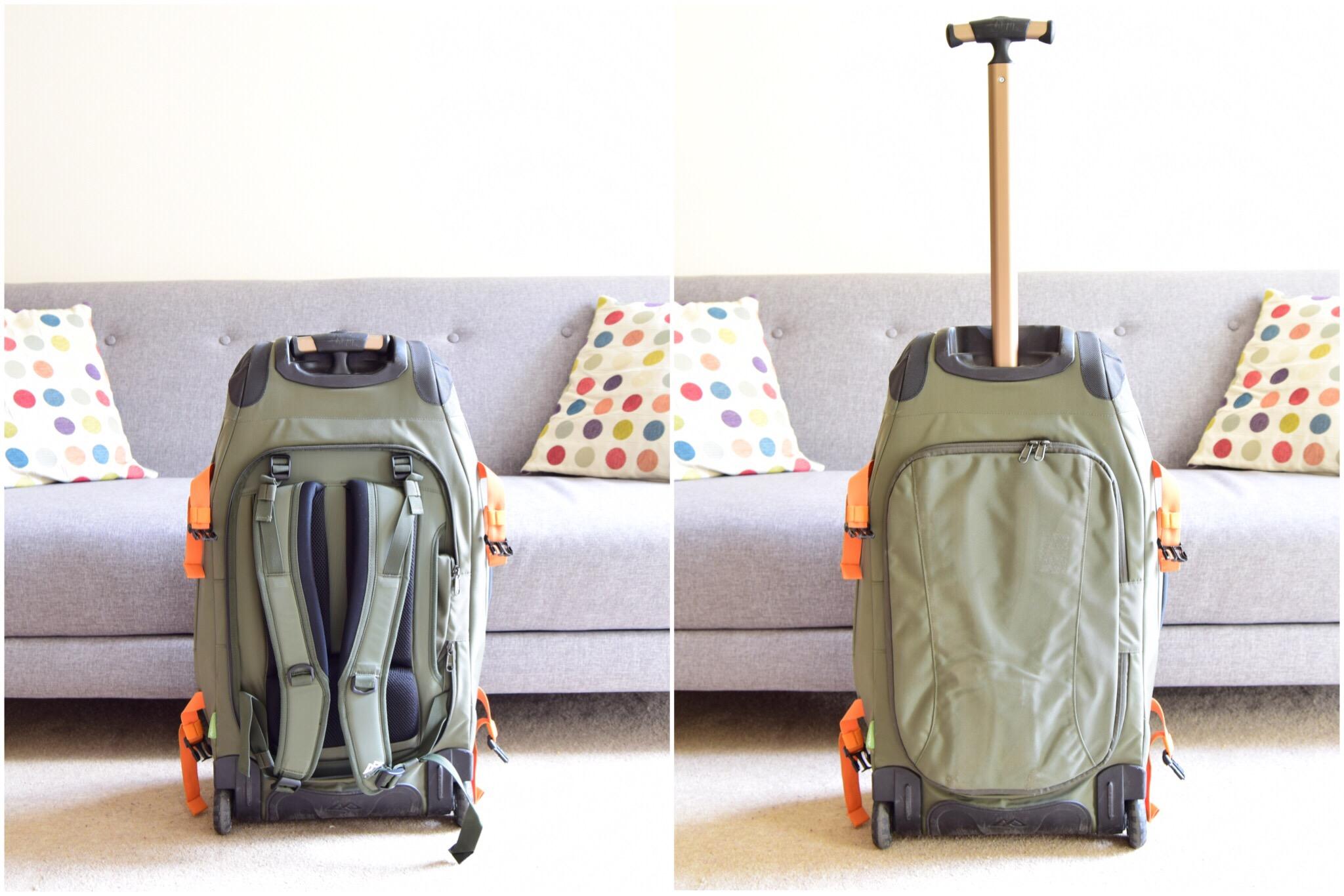 why choose a wheeled backpack
