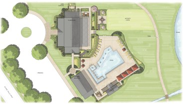 Chickahominy Falls Clubhouse Site Plan