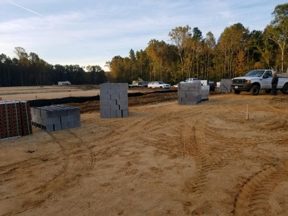1st Homesite Under Construction
