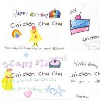 happy birthday chicken cha cha picture book 2015 2