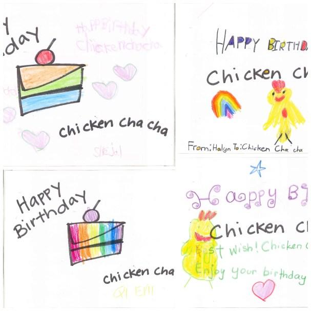 happy birthday chicken cha cha picture book2015 4