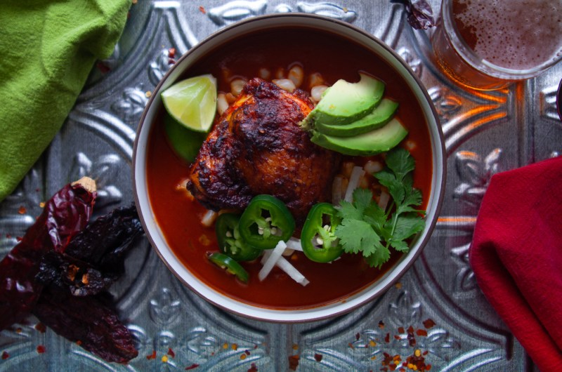 Chicken Thigh Pozole