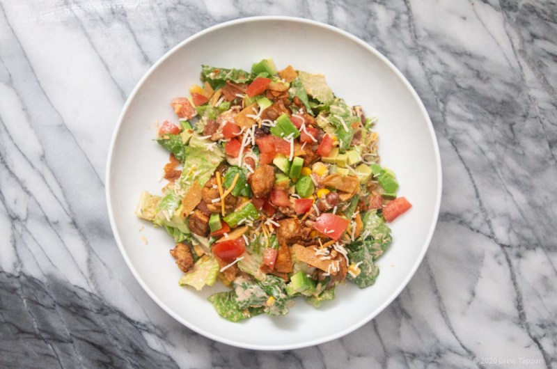 Chipotle Chicken Chopped Salad
