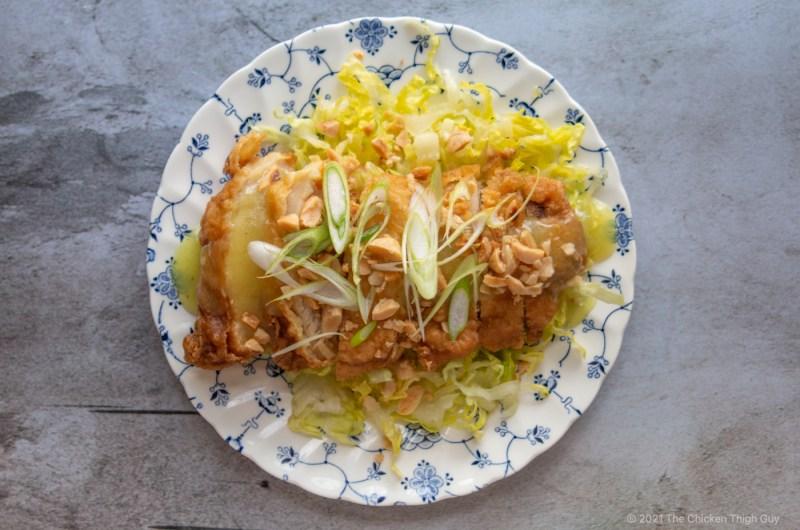 Chicken Thigh War Su Gai