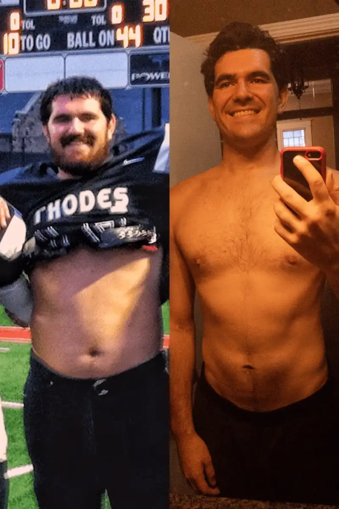 Former College Football Player Loses 40 Pounds (and How You Can Too!) 2