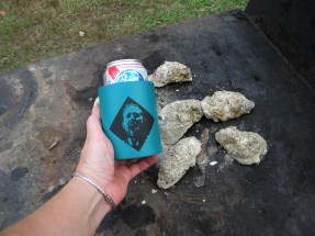 Pdon and oysters