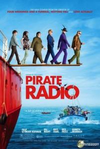 pirate radio poster 201x300 - Pirate Radio aka The Boat that Rocked