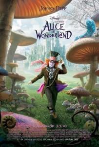 burton alice poster 350x517 203x300 - Alice in Wonderland