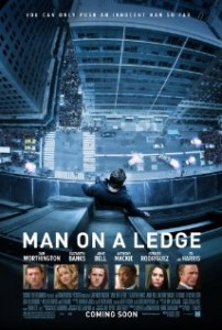 man on a ledge poster 202x300 - Man on a Ledge